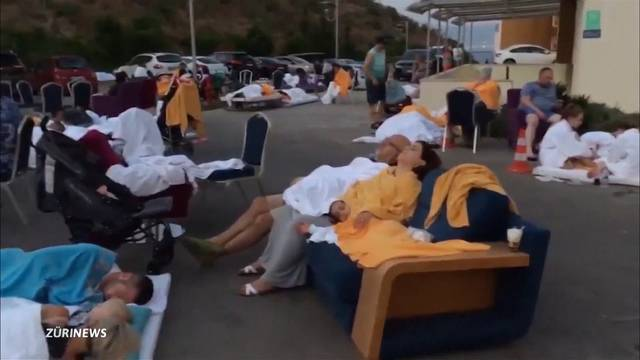 Über 120 Verletzte: Griechische Insel Kos verwüstet