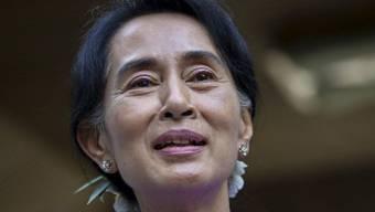 Aung San Suu Kyi bleibt Parteichefin der NLD