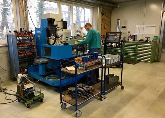 Bei der Madlener Apparatebau werden fast nur Einzelstücke produziert.