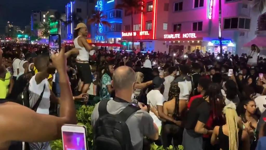 Spring Break-Parties trotz Corona: Miami ruft Notstand aus