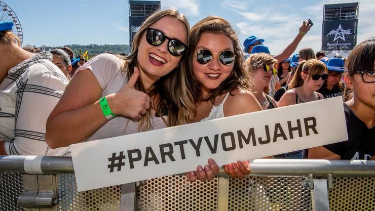 Sie alle feierten die #partyvomjahr...