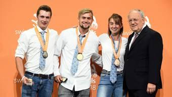 Winzer Gold für Michel Baumgartner aus Tegerfelden AG