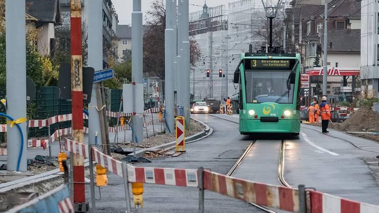 Die Verlängerung der Tramlinie 3 sorgt für Stunk.