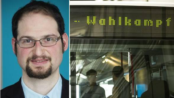 Politologe Daniel Bochsler über den Wahlkampfbus: «In dem direkten Kontakt erfahren die Wähler mehr über die Positionen der Parteien und Kandidaten.»