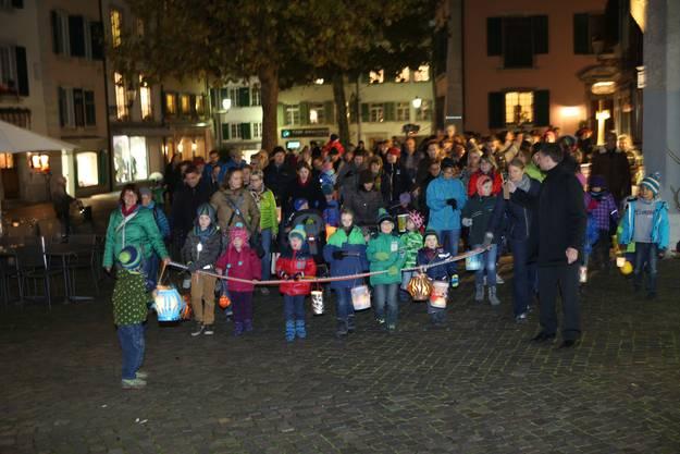 Stimmungsvolle Parade des Familienvereins Solothurn