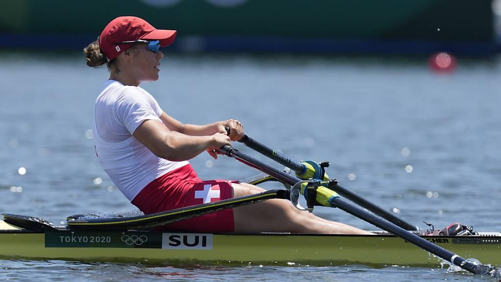 Verpasste als Fünfte Olympia-Bronze um 1,2 Sekunden: die Zürcher Skifferin Jeannine Gmelin.