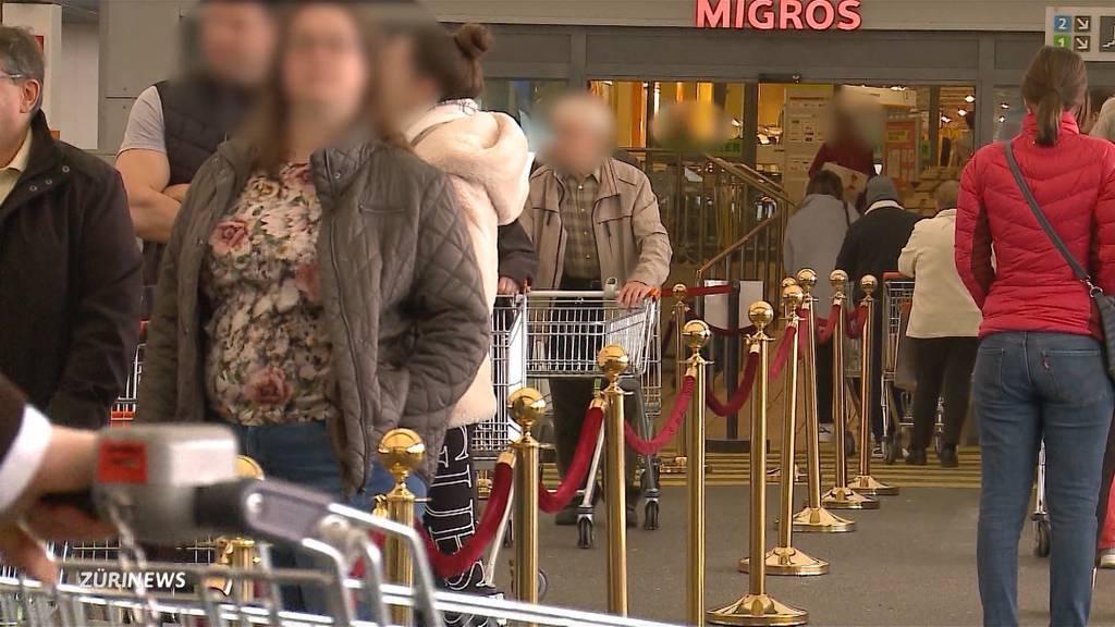 Trotz Coronavirus: Viele Senioren gehen weiterhin ins Einkaufszentrum