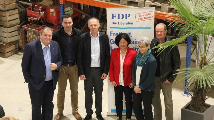 Die Hauptversammlung der FDP Bucheggberg fand im Bartlome Gartenbau in Lüsslingen statt.