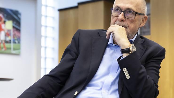 Am 18. Mai wird der Nachfolger von Peter Gilliéron als Zentralpräsident des Schweizerischen Fussballverbandes gewählt