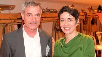 Bruno Hofer, Geschäftsleiter der Standortförderung Limmattal und Jasmina Ritz, Geschäftsleiterin der Limmatstadt AG.