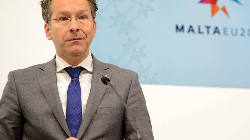 Eurogruppenchef Jeroen Dijsselbloem hat am Freitag in Valletta beim Treffen der Euro-Finanzminister eine Grundsatzeinigung zwischen Griechenland und seinen Gläubigern verkündet. Dabei geht es um die Reformen, die Athen machen muss, um weitere Hilfsgelder zu erhalten.