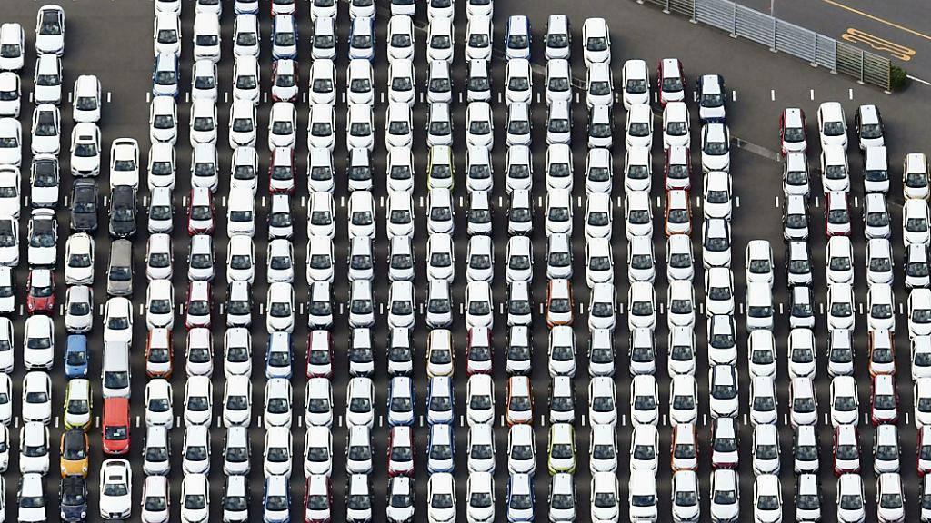 Auto-Verkäufe in Europa sinken im August wieder stärker