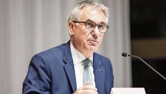 Trat als interimistischer Finanzdirektor überzeugend auf: Bildungsdirektor Alex Hürzeler.