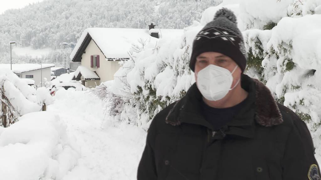 Rekord-Schnee: Meteorologe Roger Perret im Interview