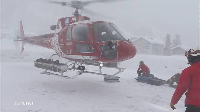Bahnunterbrüche und Isolation: Die Schweiz versinkt im Schnee