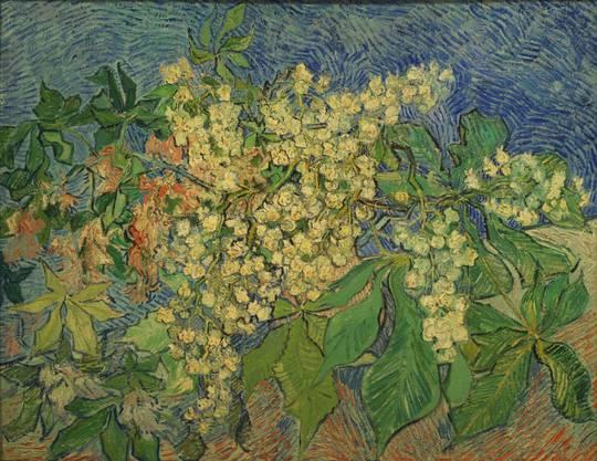 Der berühmteste Kastanienzweig der Schweizer Kunst. Vincent van Goghs «Blühender Kastanienzweig» wurde 2008 bei einem spektakulären Raubüberfall in Zürich gestohlen.