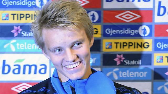 Supertalent Martin Ödegaard hat sich für Real Madrid entschieden.