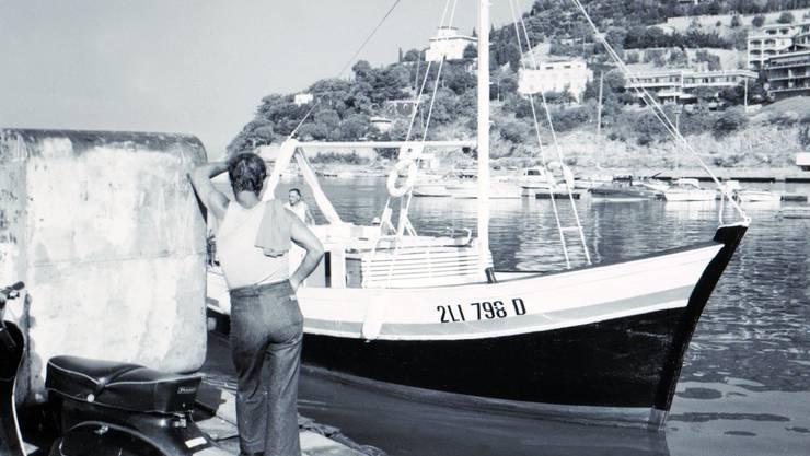 Das Licht und die Gerüche des Südens waren Daniel Wirths Kraftreservoire, schreibt Bernd Steiner. Die Aufnahme zeigt den Hafen von Piombino um 1977.