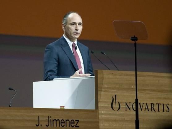Muss für die Abbaupläne heftige Kritik einstecken: Novartis-CEO Jim Jimenez (Archiv)