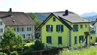 In diesem Haus in Winznau geschah die Bluttat.