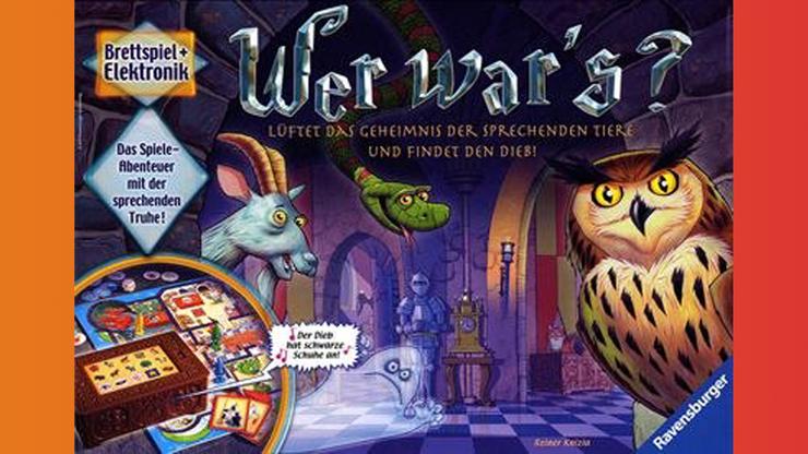 Wunsch-Nr. 61, Elena, 7 Jahre, Wer war's? Ravensburger, z.B. bei Digitec / Galaxus, CHF 40