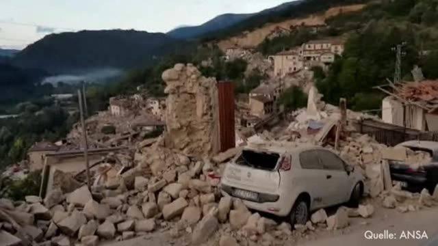 Weitere Tote bei Beben in Italien befürchtet