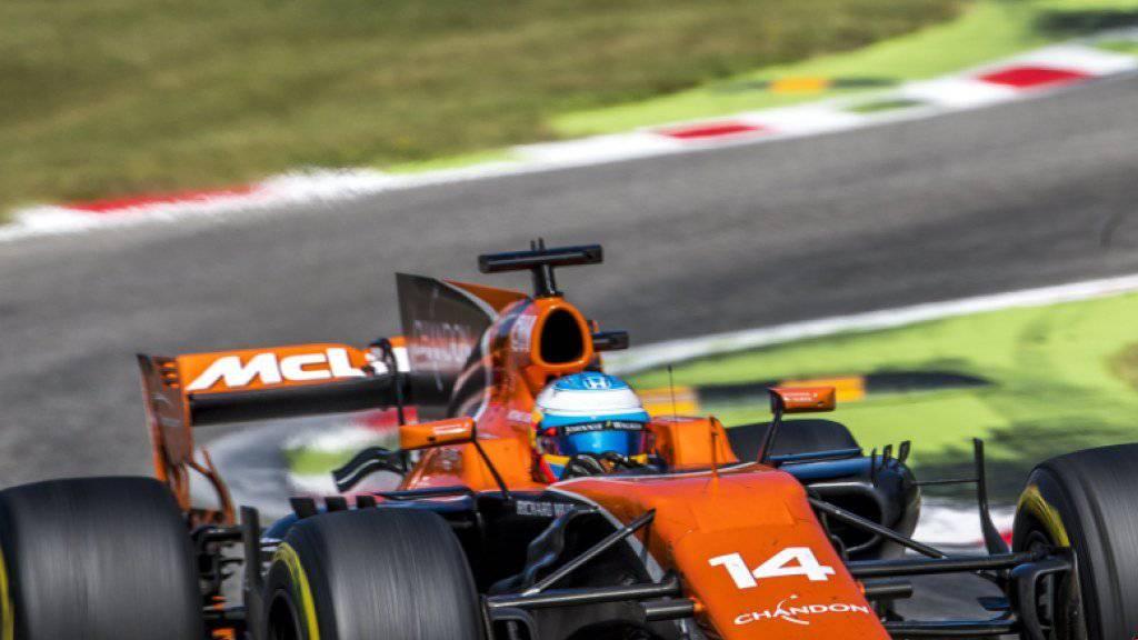 McLaren-Pilot Fernando Alonso dürfte sich über das Ende der Zusammenarbeit mit Honda freuen
