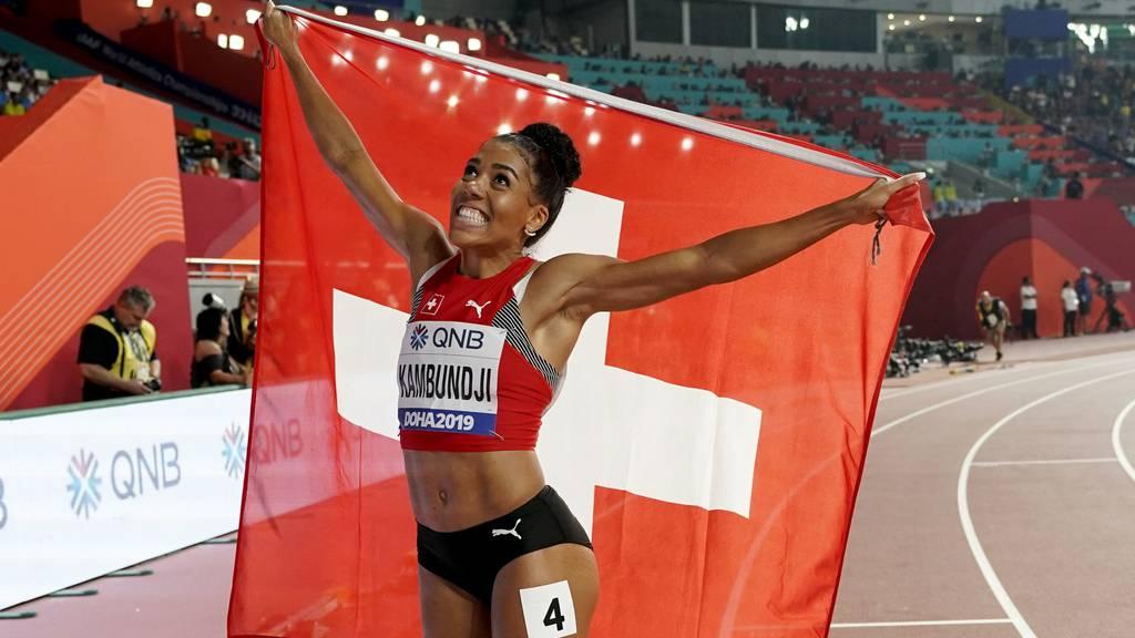 Mujinga Kambundji holt Bronzemedaille an WM