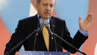 Der türkische Ministerpräsident Tayyip Erdogan in Beirut
