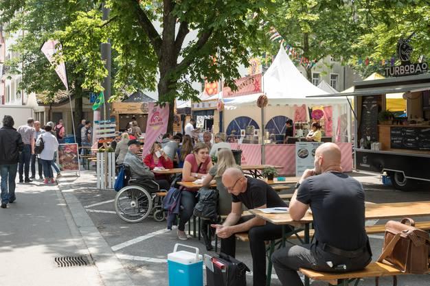 Impressionen vom Streetfood-Festival Olten