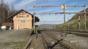 Die Station Effingen steht weiterhin als möglicher Oberflächenstandort zur Diskussion. Die Grundeigentümer wurden informiert. Archiv/CM
