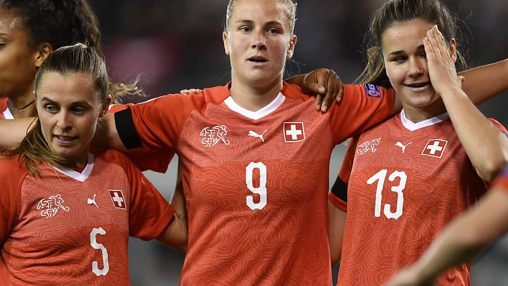 Ana-Maria Crnogorcevic erzielte ihren 61. Treffer im Schweizer Nationalteam (Archivbild)