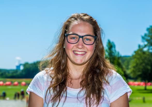 Schwimmerin Silvana Huber