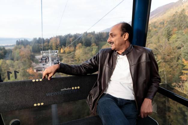 Vijesh Rajan ist seit Anfang 2019 CEO des Solothurner Uhrenherstellers.