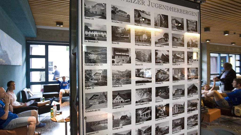 Die Schweizer Jugendherbergen haben im letzten Jahr weniger ausländische und mehr inländische Gäste empfangen. Die Zahl der Logiernächte ging zurück . (Archiv)