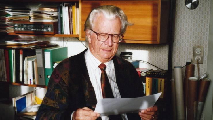 Hugo Müller hat als Lokalhistoriker und kulturell engagierter Mensch tiefe Spuren hinterlassen. zvg