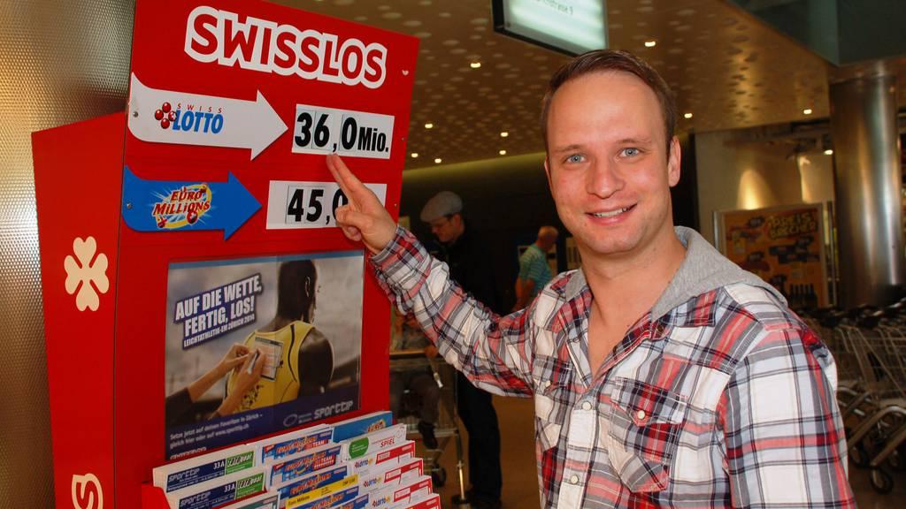 Schweizer Lotto: Höchster Jackpot aller Zeiten