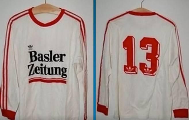 Saison 1990-91 - Auswärtstrikot