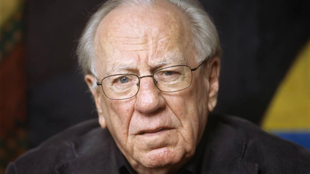 Der Basler Komponist Rudolf Kelterborn ist im Alter von 89 Jahren gestorben.