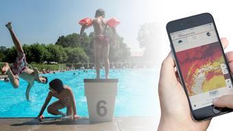 Der Schweizer Bademeister-Präsident macht sich Sorgen, weil Eltern zu viel Zeit am Smartphone oder am Tablet verbringen in der Badi.