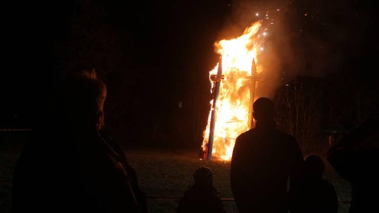 Das Babeli in Bettlach stand in kurzer Zeit voll in Flammen