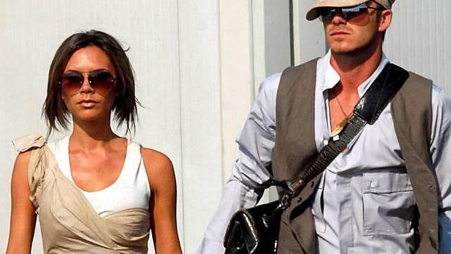 Das Ehepaar Beckham (Archiv)