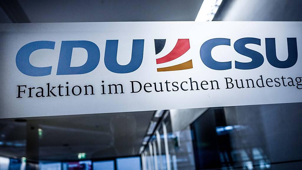 Spitzen von CDU und CSU einig bei Wahlprogramm