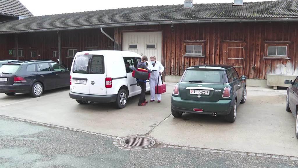 Ostschweiz beginnt mit impfen ab 4. Januar