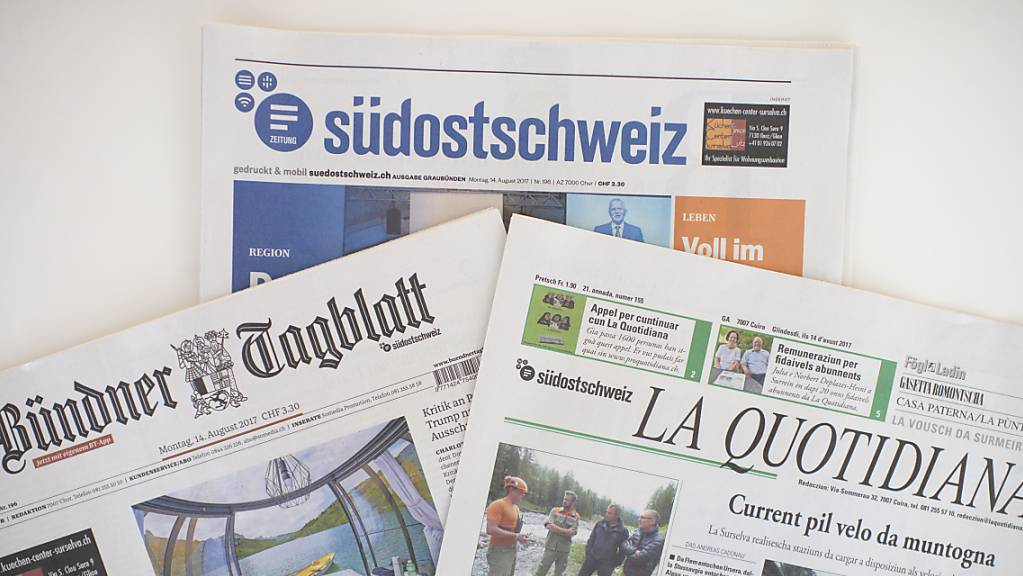 Hilfe der öffentlichen Hand für regionale Medien in Graubünden wegen der Coronakrise? Die Kantonsregierung will abwarten. (Archivaufnahme)
