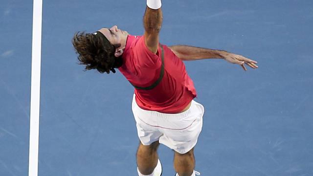 Federers Auftritte in Südamerika sind im Internet live zu verfolgen