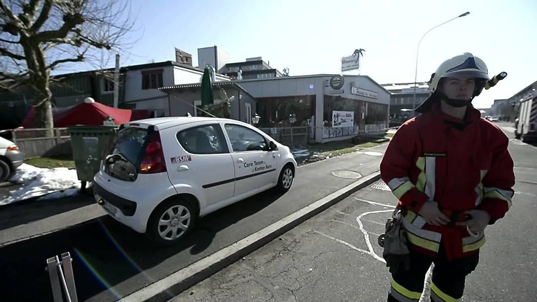 Explosion in Aarberg: Careteam im Einsatz