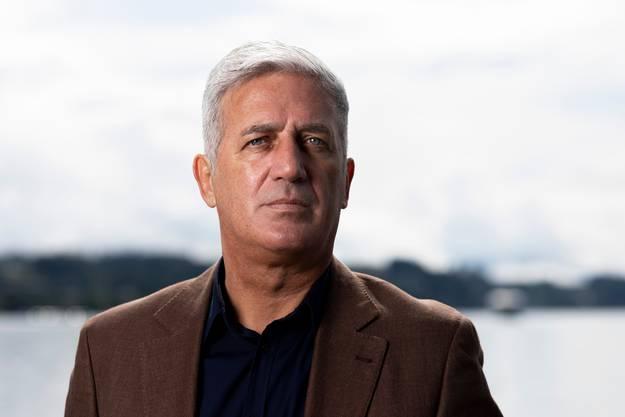Vladimir Petkovic, Fussball Nationaltrainer der Schweiz.