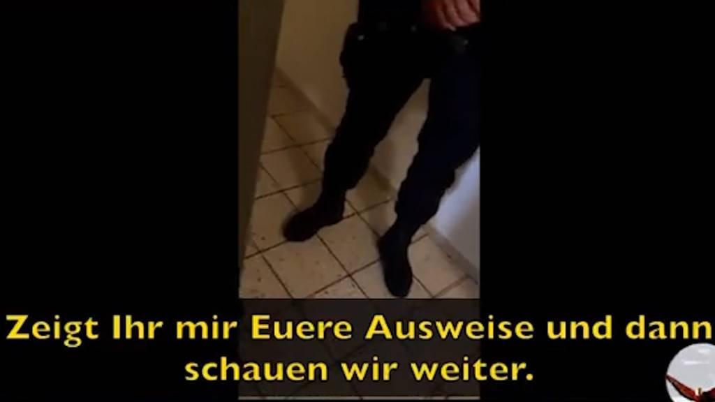 Luzerner Polizisten wollen sich nicht ausweisen – Video geht viral