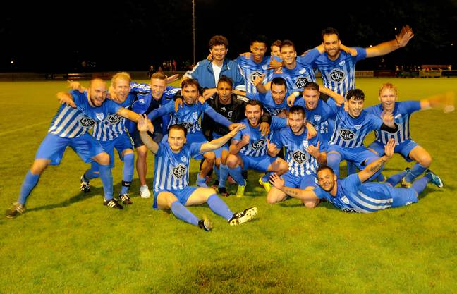 Die Reserven des FC Olten konnten zwar den Drittliga-Meistertitel feiern, aber noch nicht den Aufstieg.